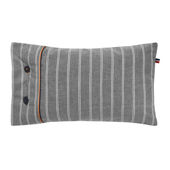 Grey Stripe Cushion