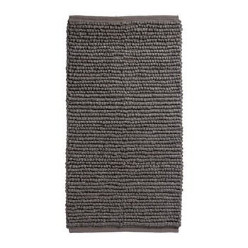 Dark Grey Looped Rug