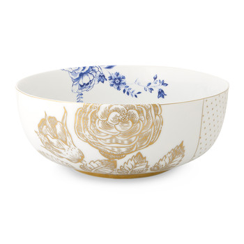 Royal White Floral Bowl