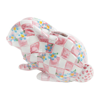 Quilted Bunny Money Box - Pink