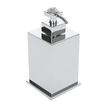 Chrome Liquid Soap Dispenser - Chrome