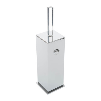Chrome Toilet Brush Holder - Chrome