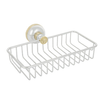 I Classici Sponge Holder - Chrome & Gold Finish