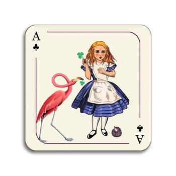 Louise Kirk - Alice in Wonderland Coaster - Alice