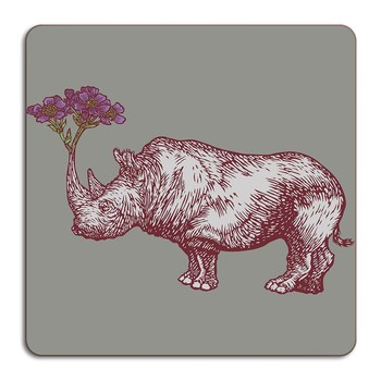 Puddin' Head - Animaux Placemat - Rhino