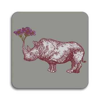 Puddin' Head - Animaux Coaster - Rhino