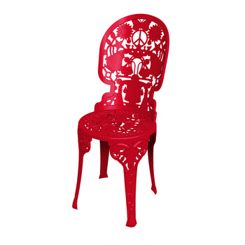 Industry Garden Chair - Red