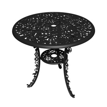 Industry Garden Table - Black