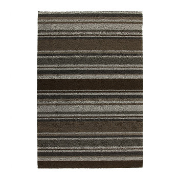 Mixed Stripe Shag Rug - Oak