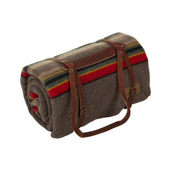 Twin Camp Blanket with Carrier - Mineral Umber