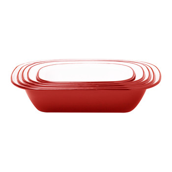 Pie Set - Pillarbox Red