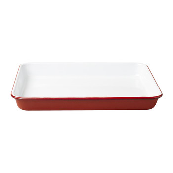 Oven Dish - Pillarbox Red