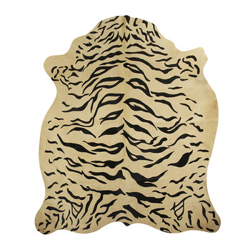 Cowhide Rug - Tiger Printed