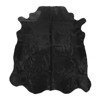 Cowhide Rug - Black Dyed