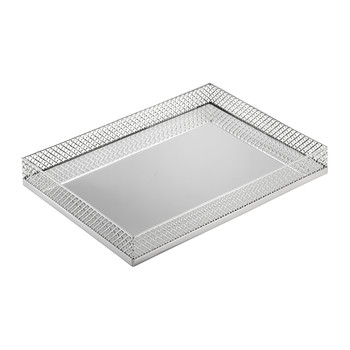 Firenze Vanity Tray - Chrome