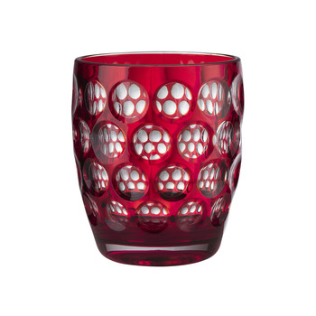 Small Lente Acrylic Tumbler - Red