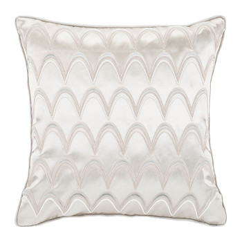 Silver Dove Bed Pillow - 45x45cm - Silk