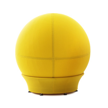 Children's Frozen Ball Seat with Stand - Cyber Yellow
