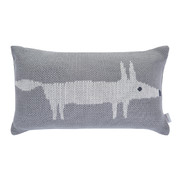 mr-fox-knitted-cushion-30x50cm-silver