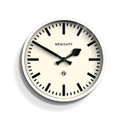 the-luggage-clock-linen-white