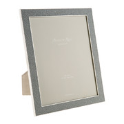 grey-faux-shagreen-photo-frame-8x10
