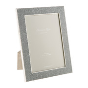 grey-faux-shagreen-photo-frame-5x7