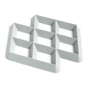 rhom-trivet-light-grey