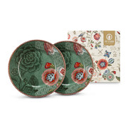 spring-to-life-plates-set-of-2-green
