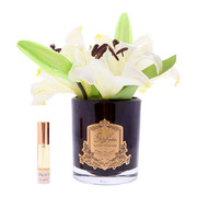 oriental-lillies-in-black-glass-ivory