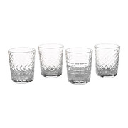 mixed-cuttings-glass-tumblers-set-of-4-clear