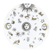 astronomici-plate-black-white-gold