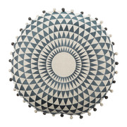 concentric-cushion-50cm-slate-on-natural-linen