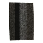 large-stripe-shag-rug-black-grey-46x71cm