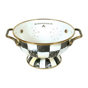 courtly-check-enamel-colander-small