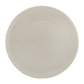 A by Amara - Luis Stoneware Serving Plate - Taupe