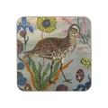 Avenida Home - Nathalie Lété - Birds in the Dunes Coaster - Eskimo Curlew