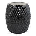 Villari - Black Tie Waste Basket