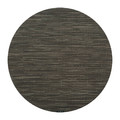 Chilewich - Bamboo Round Placemat - Gray Flannel