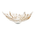 Lalique - Champs-Elysees Bowl - Gold Luster - Medium