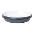 Falcon - Deep Plate - Set of 4 - Pigeon Grey