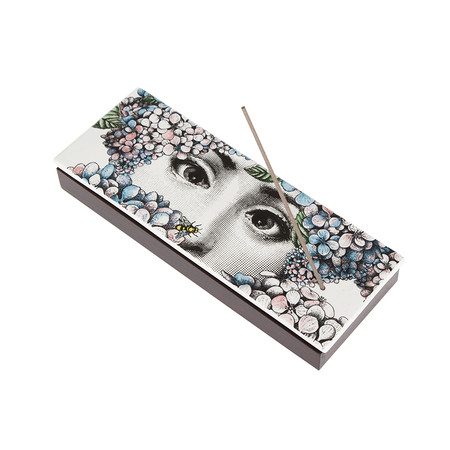 Fornasetti - Ortensia Incense Box with Lid