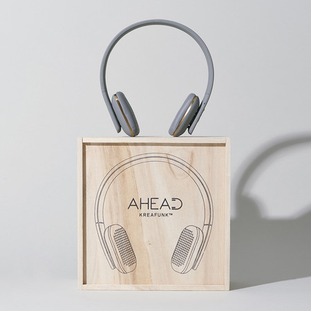 KREAFUNK - aHead Headphones - Cool Gray