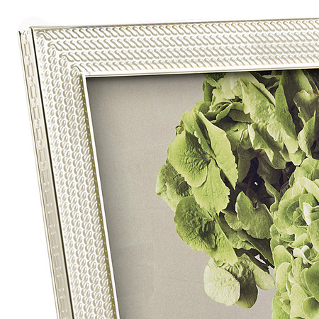 """Vera Wang for Wedgwood - With Love Pearl Photo Frame - 8x10"""""""