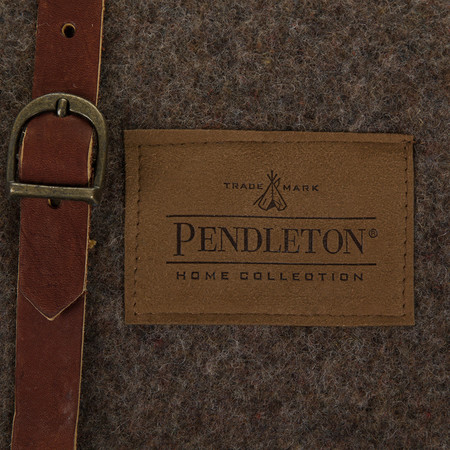 Pendleton - Twin Camp Blanket with Carrier - Mineral Umber