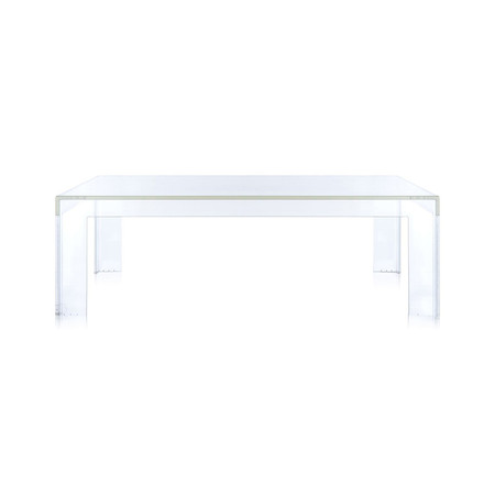 Kartell - Small Invisible Table - Crystal