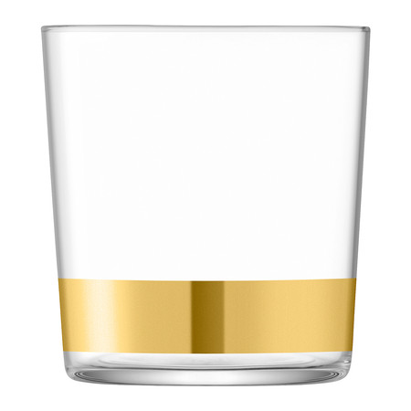 LSA International - Deco Assorted Gold Tumblers - Set of 8