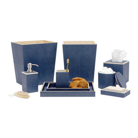 Pigeon & Poodle - Manchester Tray Set - Navy