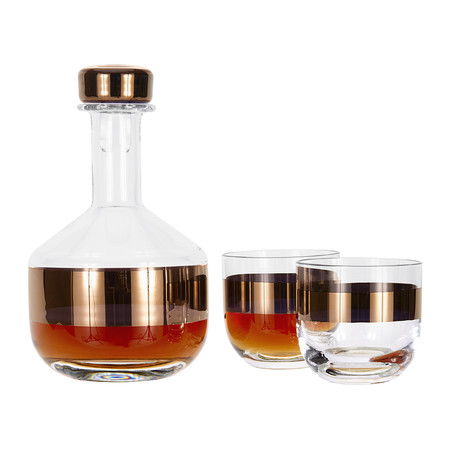 acheter tom dixon verre whisky r servoir lot de deux. Black Bedroom Furniture Sets. Home Design Ideas