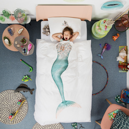 Snurk - Mermaid Duvet Set - Single