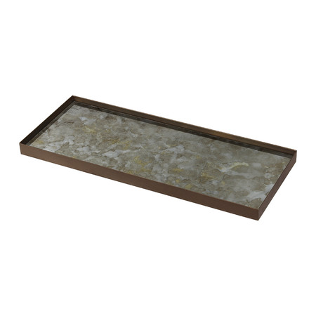 Ethnicraft - Fossil Organic Glass Tray - Large